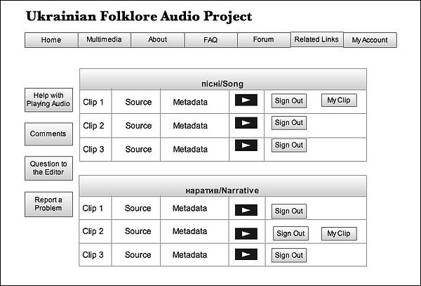 Audio Page 1